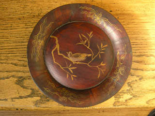 19th Century Chinese Wooden Wedding Bowl Design