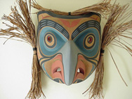 Tony Hunt Jr. Kwagiulth Owl Mask