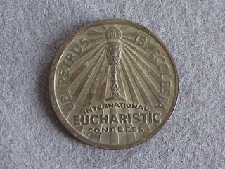 1926 Pope Pius XI Commemorative Coin