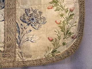 18th C. French Silk Brocade Chausuble
