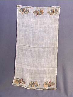 19th C. Ottoman Embroidered Turkish towel