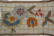 Edwardian Floral Needlework Lace